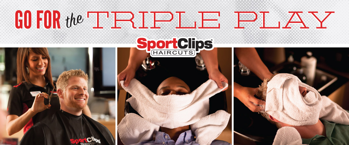 The Sport Clips Haircuts of Vacaville - Nut Tree Village Triple Play
