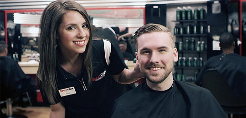 Sport Clips Haircuts of Vacaville - Nut Tree Village stylist hair cut